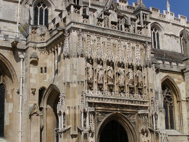 Gloucester Cathedral entrance