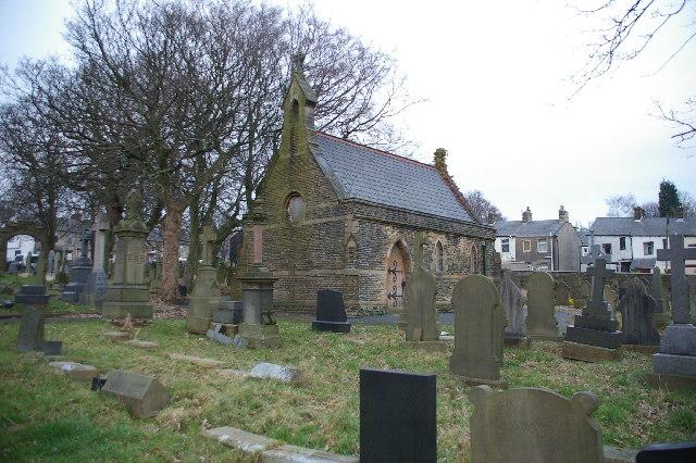 Graveyard Chapel Padiham