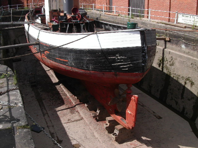 Gloucester docks dry dock