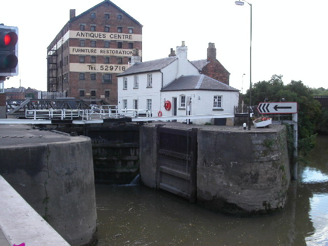 Lock Entrance to Gloucester Docks