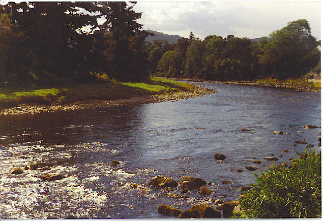 River Dee at The Platties, Banchory.
