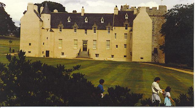 Drum Castle, the South Front.