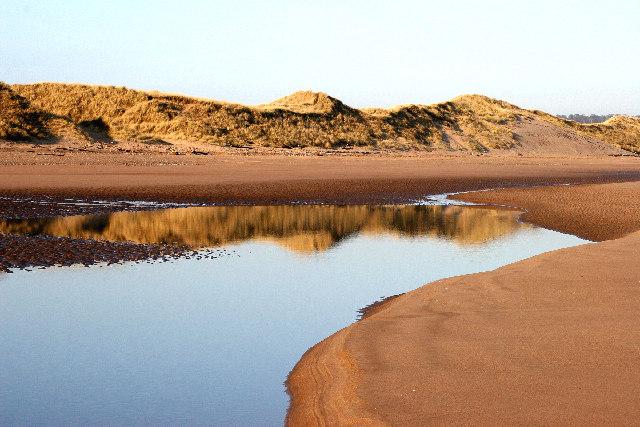 Dunes at Kinnaber nr Montrose