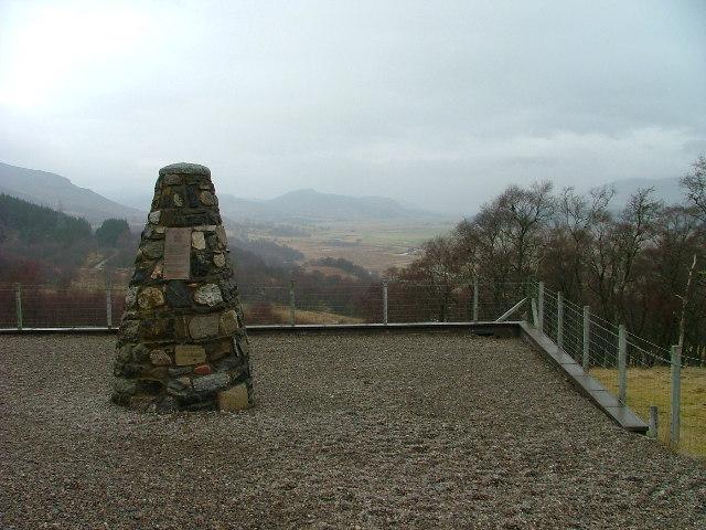 Clan MacPherson Memorial Cairn