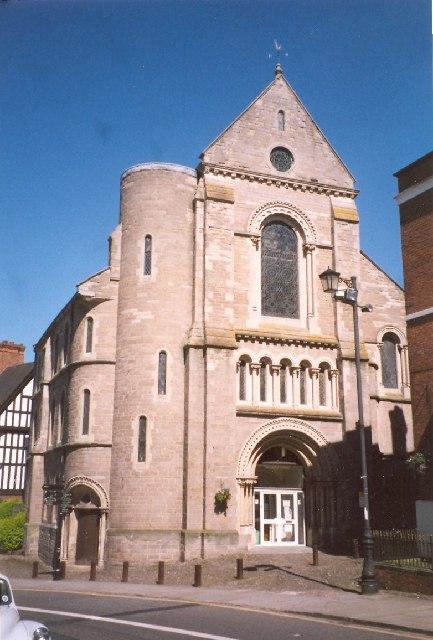 Former Church of St Nicholas, Castle Street, Shrewsbury
