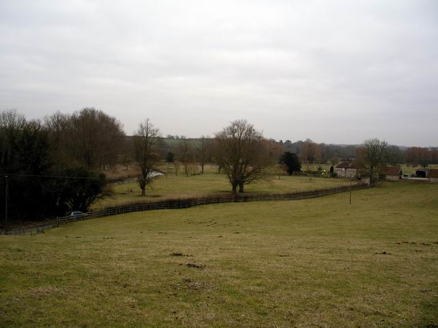 Itchen Valley near Yavington Farm