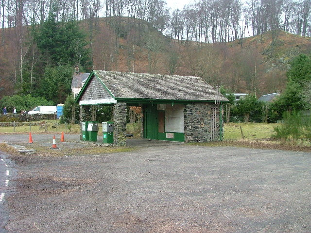 Disused Filling Station