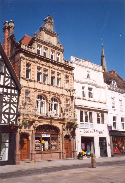 Banks in High Street, Shrewsbury