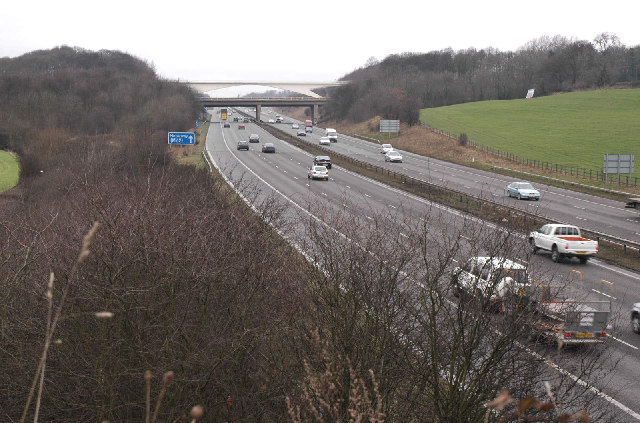 The M1 SW of Dodworth