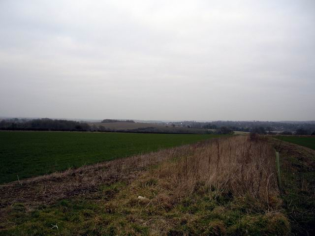 Farmland north of Itchen Stoke