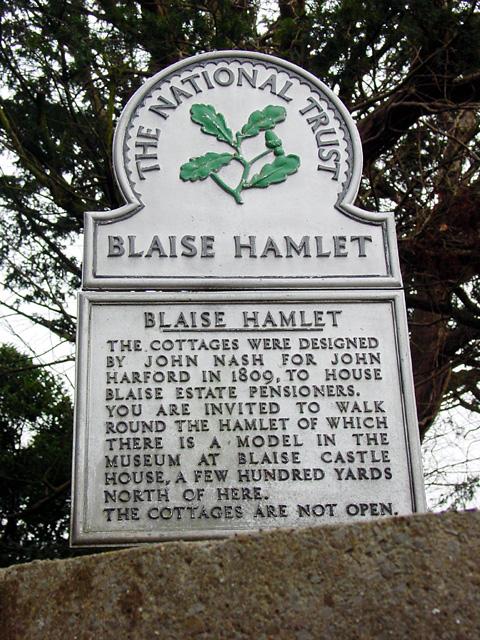 Blaise Hamlet Information