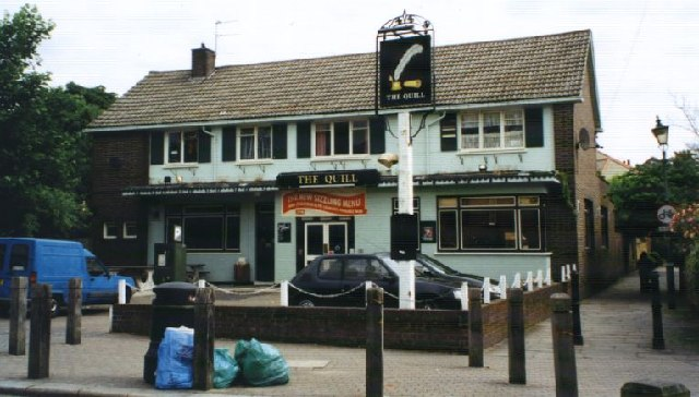 Quill, Putney, 2001. Now closed.