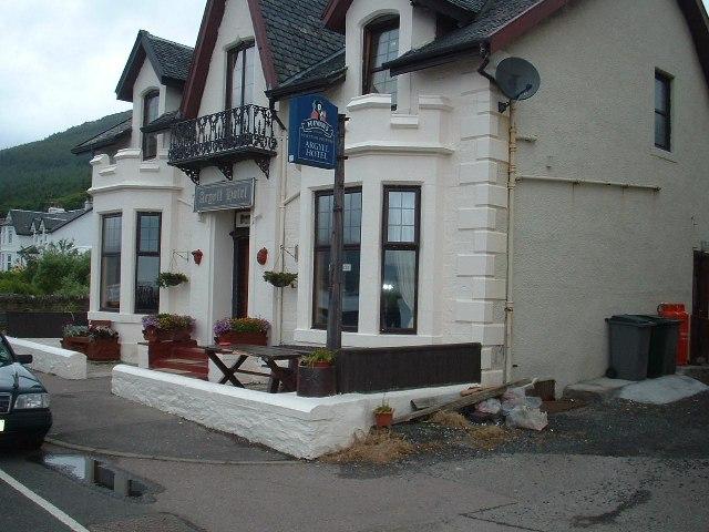 Argyll Hotel, Strone