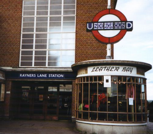 Rayner's Lane Underground Entrance