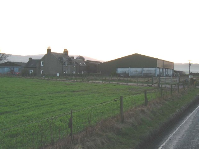 Strath Farm on the B843 to Machrihanish, south Kintyre.
