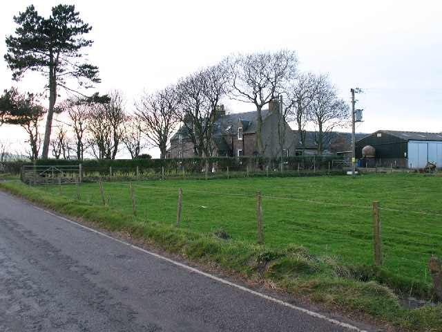 Dalivaddy Farm on the Campbeltown to Machrihanish road.