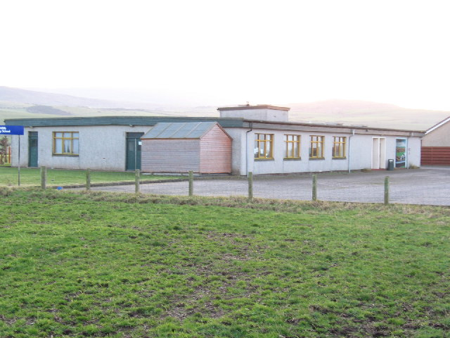 Drumlemble Primary School on the B843.