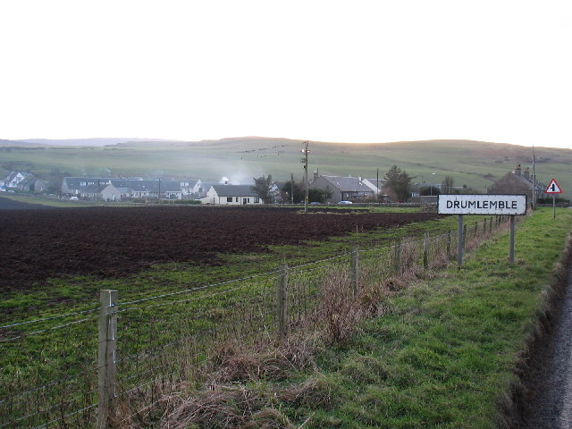 Drumlemble village near to Machrihanish, Kintyre.