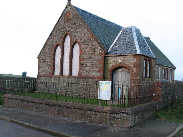 Old Presbyterian Mission Hall in Drumlemble village.