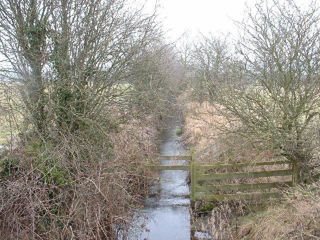 The White Beck near Priest Hutton