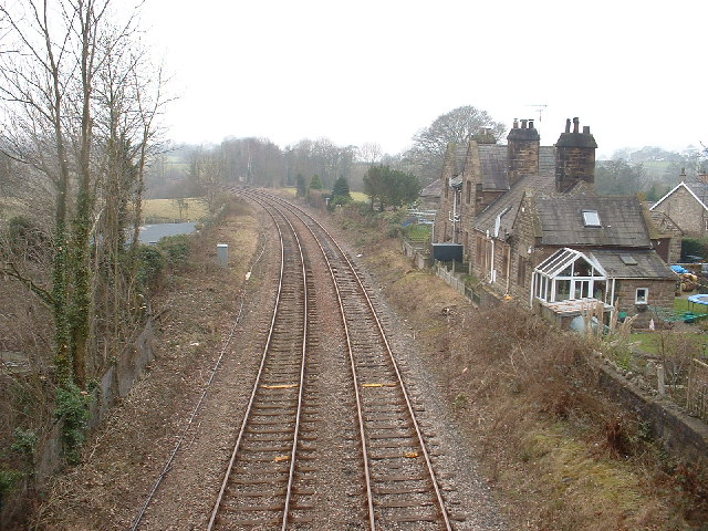Railway at Borwick