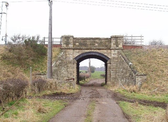Railway Bridge, Carr Brecks Farm, Ollerton