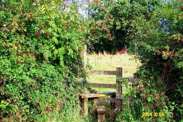 Lower Threapwood - footpath Threapwood 19