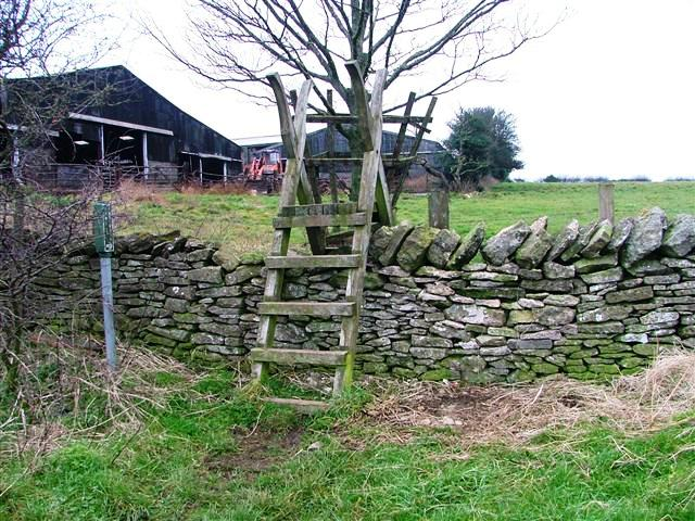 Footpath to Oxen Dale