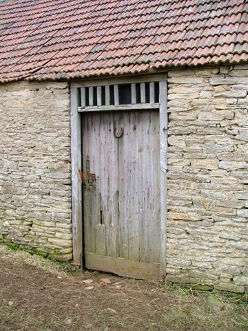 Door in Barn off  High Leir Lane