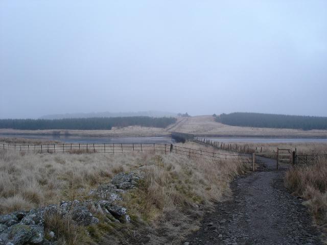 Alwen Crossing view