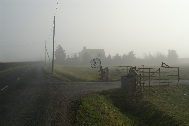Entrance to Splott Farm