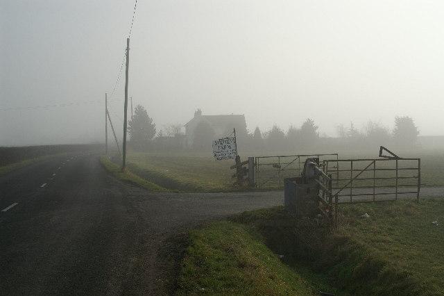 Entrance to Splott Farm