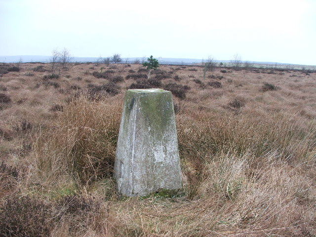 Trig point at SE854940.