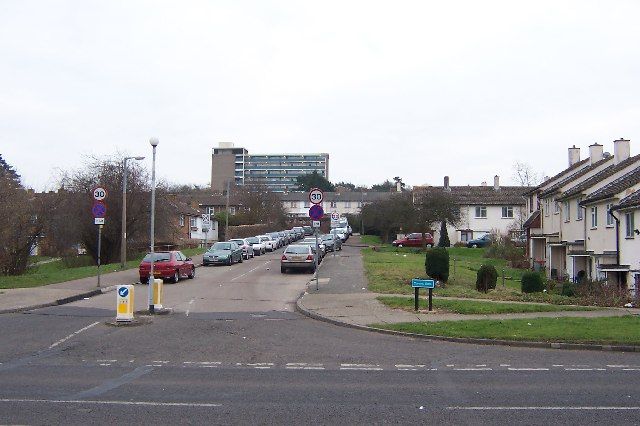 Canons Gate and Spring Hills Towers, Harlow