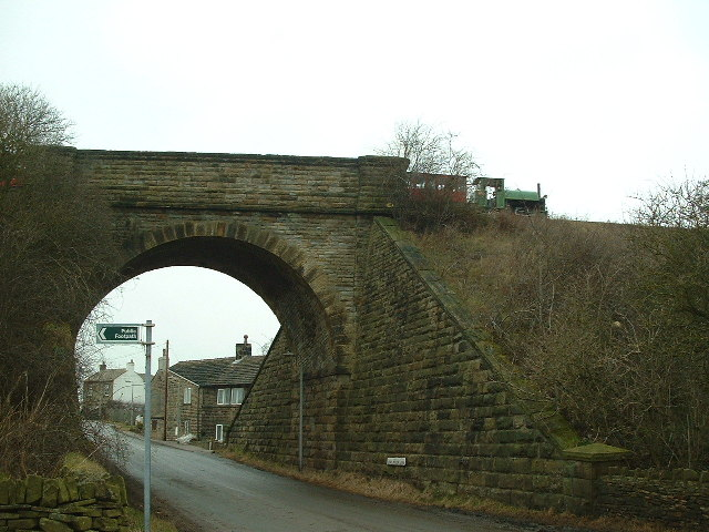 Railway Bridge across Long Moor Lane