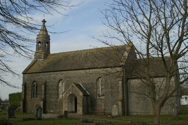 St Philips & St James Church.  Burtle