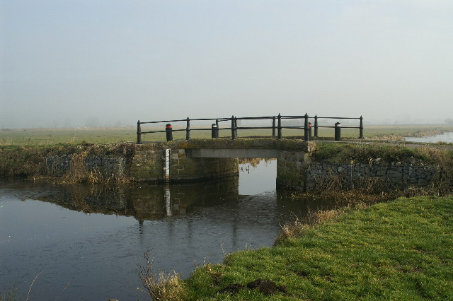Bridge crossing North Drain Tealham Moor