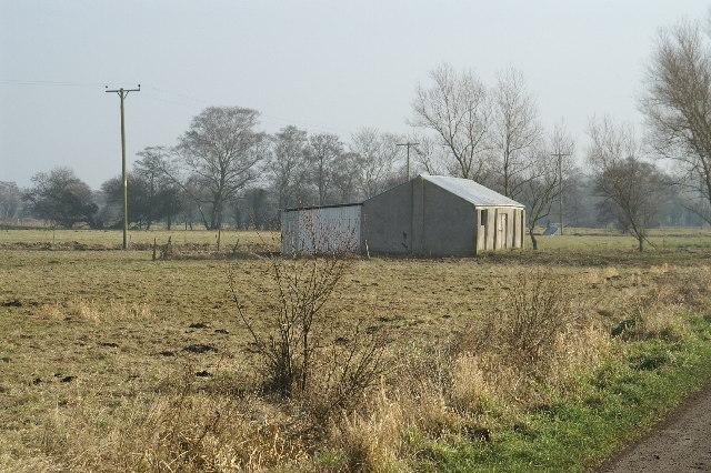 Field and Barn on Tadham Moor
