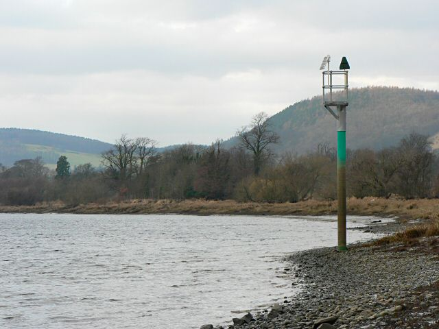 Navigation marker on the Tay