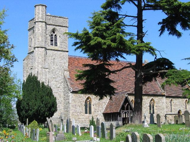 St. Mary's Church - Thundridge, Herts