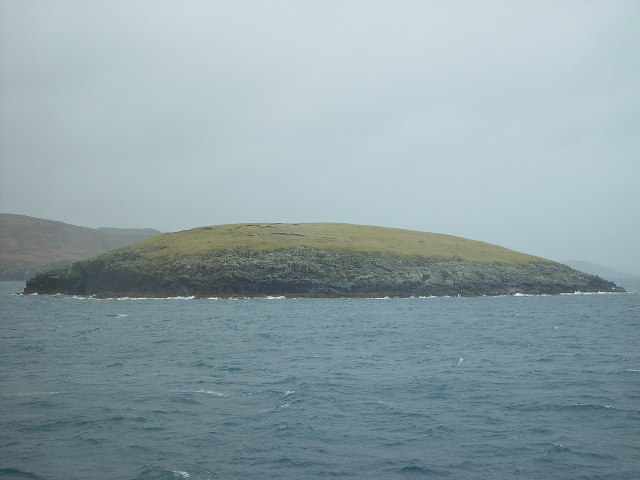 Ketill Holm, Lunning Sound, Shetland