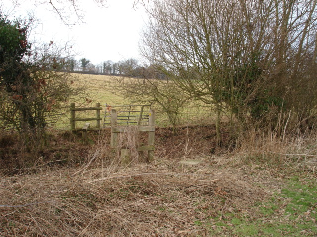 Stile Nr Wartling East Sussex