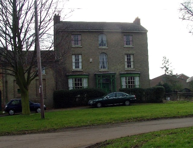House with ornate ironwork, Upper Caldecote.