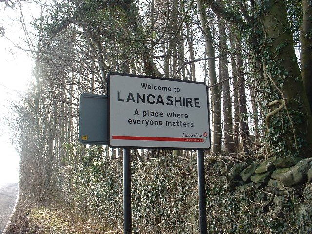 You are now leaving Cumbria, where.....