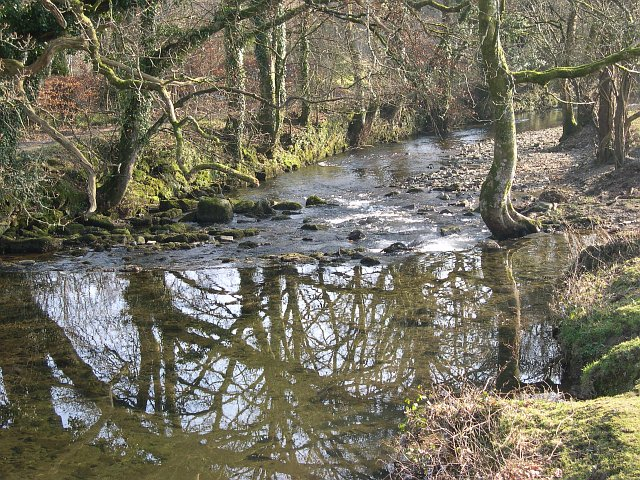 The River Meavy near Clearbrook