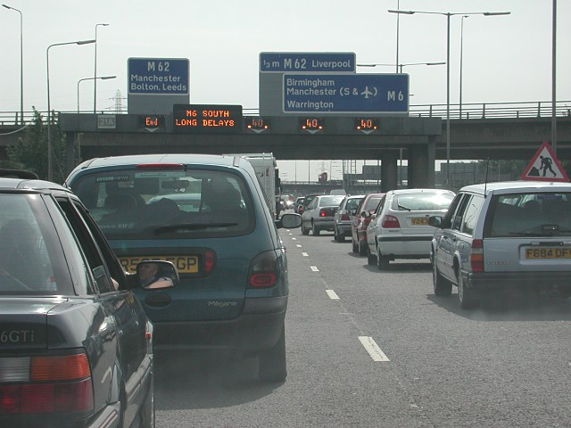 M6 Southbound