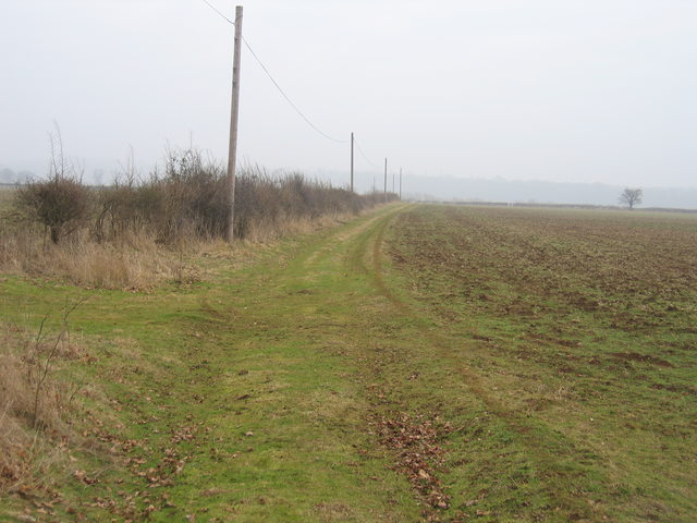 Track to Mount Pleasant Farm