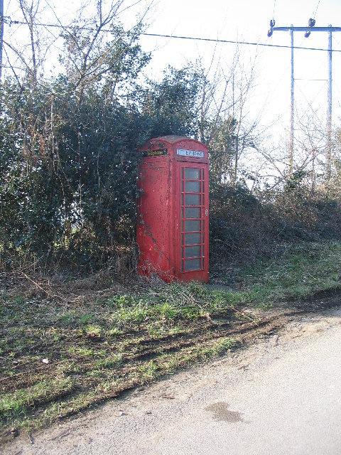 Neglected Phone Box