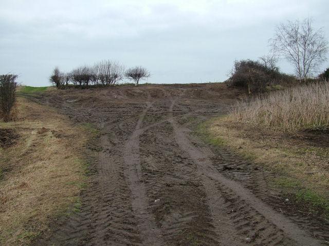 Two farm tracks.