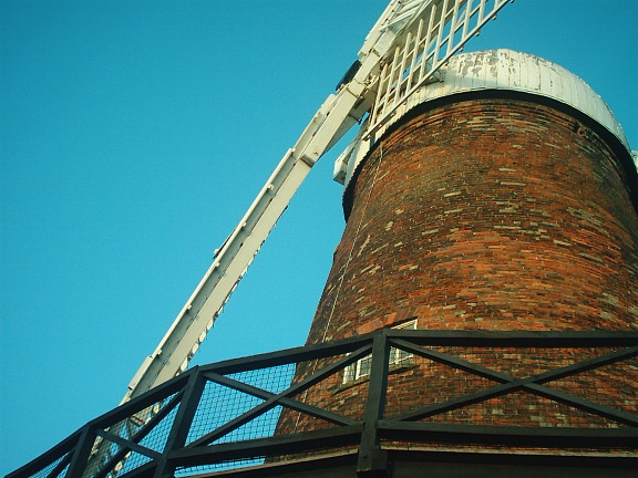 Green's Mill from mill yard
